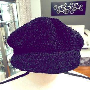 Accessories - August Hat Classical Beret Black Hat